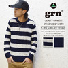 grn FISHERMAN CREW NECK KNIT GU411042W画像