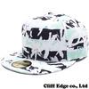 KENZO x NEW ERA LOGO NEW ERA CAP GREENxBLACKxWHITE画像