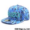 KENZO x NEW ERA LOGO NEW ERA CAP BLUExGREENxGRAY画像