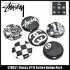 STUSSY Stussy SP14 Button Badge Pack 138307画像