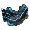 "NIKE JORDAN SUPER. FLY 2 ""PLAYOFF PACK"" blk/dark powder blu 645058-006画像"