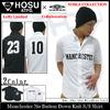 HOSU × UMBRO Manchester No Button Down Knit S/S Shirt HOS7443画像