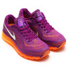 NIKE WMNS AIR MAX 2014 BRIGHT GRAPE/WHITE-TOTAL ORANGE/ATOMIC MANGO 621078-501画像