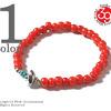 SunKu White Heart Beads Bracelet SK-001画像