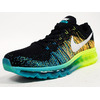 """NIKE FLYKNIT MAX """"LIMITED EDITION for CORE"""" BLK/GRN/YEL/WHT 620469-001画像"""