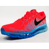 """NIKE FLYKNIT MAX """"LIMITED EDITION for CORE"""" ORG/BLU/BLK 620469-600画像"""