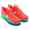 NIKE WMNS FLYKNIT MAX BRIGHT CRIMZON/WHITE-TURBO GREEN/LIGHT LUCIDE GREEN 620659-600画像