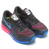 NIKE WMNS AIR MAX 2014 BLACK-PHOTO BLUE/HYPER PINK 621078-004画像