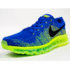 """NIKE FLYKNIT MAX """"LIMITED EDITION for RUNNING FLYKNIT"""" BLU/YEL 620469-400画像"""