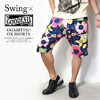 SWING × GOODEVIL OGABITTSU OX SHORTS画像