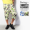 SWING × GOODEVIL CAMO SHORTS画像