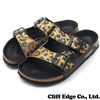 NEIGHBORHOOD PAPILLIO ARIZONA.LEO/B-SANDAL LEOPARDxBLACK画像