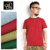 Cal Cru #CrewNeck Pocket T-Shirt Micro Stripe画像