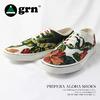 grn 総柄プリペラスニーカー NATURAL GG414026N-NTRL画像