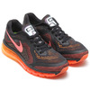 NIKE AIR MAX 2014 BLACK/BRIGHT MANGO-PEACH CREAM 621077-002画像