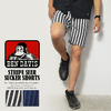 BEN DAVIS STRIPE SEER SUCKER SHORTS 4580060画像