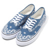 NUMBER (N)INE CANVAS SHOES BANDANA NAVY NF005画像