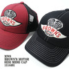 MWS BROWN'S MOTOR SIDE MESH CAP 1114401画像