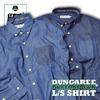 grn DUNGAREE BUTTONDOWN L/S SHIRT GU432096N画像