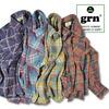 grn JACQUARD CUT SHIRT GU411066N画像