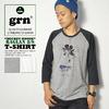 grn MICKEY MOUSE RAGLAN 8/S TEE GU431221R画像