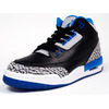 "NIKE AIR JORDAN III RETRO (GS) ""SPORTS BLUE"" ""MICHAEL JORDAN"" BLK/BLU/GRY 398614-007画像"