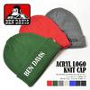 BEN DAVIS ACRYL LOGO KNIT CAP BDW-9502画像