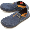 Cushe M SLIPPER NAVY/WAVE PRINT UM01250B画像