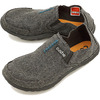 Cushe M SLIPPER DARK GREY WOOL UM01245B画像