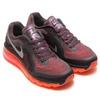 NIKE WMNS AIR MAX 2014 DARK VIOLET ORE/REFLECT SILVER/HYPER PUNCH/BLACK/BRIGHT MANGO 621078-200画像