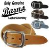 BARNS バーンズ レザーベルト LE-3063画像
