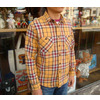 TOYS McCOY McHILL NEL CHECKED WORK SHIRT TMS1423画像