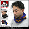 BEN DAVIS Border Neck Warmer WHITE LABEL BDW-9506画像