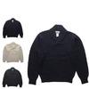 MINNESOTA RUGG ショールカラー ヘチマ襟 ラグウール セーター画像
