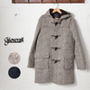 GLOVERALL SLIM FIT KNIT DUFFLE COAT 920/PW01画像