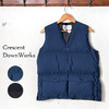 Crescent Down Works Utility Vest画像