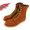 "RED WING #877 Classic Work / 8"" Moc-toe ORO-LEGACY 877 ORO-LEGACY画像"