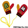 A BATHING APE BAPE KIDS MILO CRAZY KNIT MITTEN 2A80-382-615画像