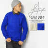 Loky CABLE CREW NECK KNIT 11021048画像