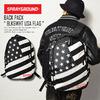 "SPRAYGROUND BACK PACK ""BLK&WHT USA FLAG""画像"