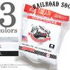 RAILROAD SOCK ''8P CREW' MEN'S 8 PR. CREW画像