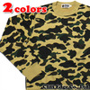 A BATHING APE WIND STOPPER 1ST CAMO CREWNECK 1B30-113-006画像
