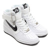 NIKE WMNS LUNAR FORCE 1 SKY HI WHITE/BLACK-VOLT 654848-101画像