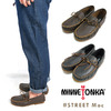 MINNETONKA Street Moc - Grain Leather-画像