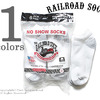 """RAILROAD SOCK """"6P NO SHOW"""" MEN'S 6 PAIR NO SHOW-GREY HEEL&TOE 6066画像"""