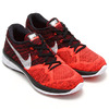 NIKE FLYKNIT LUNAR 3 BLACK/HOT LAVA-RASPBERRY RED/UNIVERSUTY RED 698181-006画像
