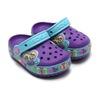 crocs CROCSLIGHTS BUTTERFLY CLOG PS NEON PURPLE/AQUA 15685-5B3画像
