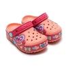 crocs CROCSLIGHTS BUTTERFLY CLOG PS MELON/POPPY 15685-6JI画像