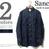 Sanca フレンチリネンミニラウンドカラーシャツ S15SSH15画像