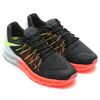 NIKE AIR MAX 2015 BLACK/VOLT-HOT LAVA/WHITE 698902-007画像